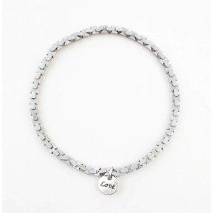 """Bracelet """"Ise"""" old silver"""