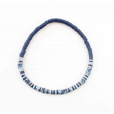 """Armband """"Beau"""" blau"""
