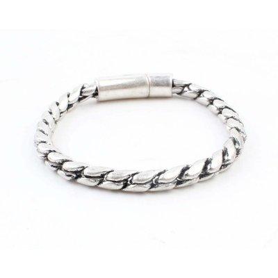 "Bracelet "" Noor "" old silver"