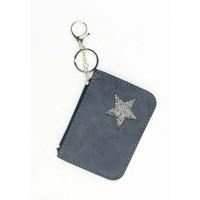 "Keychain ""wallet"" blue"
