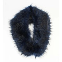 "Scarf ""Fur"" blue"