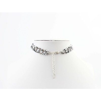 "Short necklace ""Elizabeth"" silver"