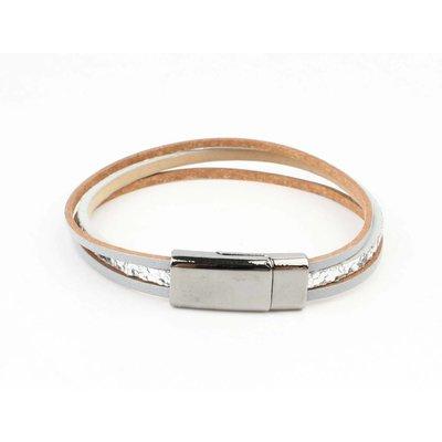 "Bracelet ""Louise"" silver/grey"