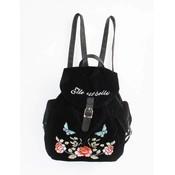 """Backpack """"Velvet rose"""" black"""