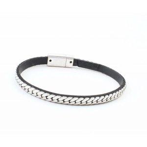 "Bracelet ""Single row links"" silver"