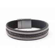 "Bracelet ""Necklace & Rhinestone"" black"
