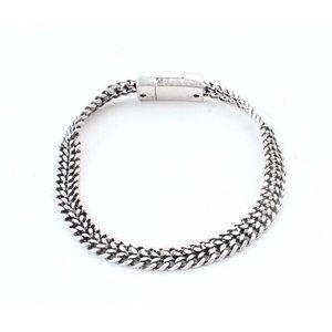 "Bracelet ""V Links"" silver"