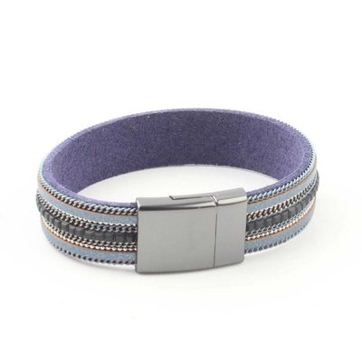 """Bracelet """"Necklace & Rhinestone"""" blue"""