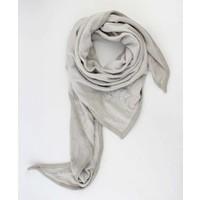"""Driehoek sjaal """"Sterren"""" grijs"""