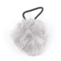 "Hair elastics ""Rabbits tail"" grey"