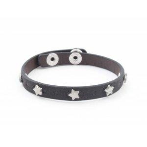 """Bracelet """"Little stars"""" black"""