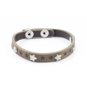 "Bracelet ""Little stars"" kakhi Green"