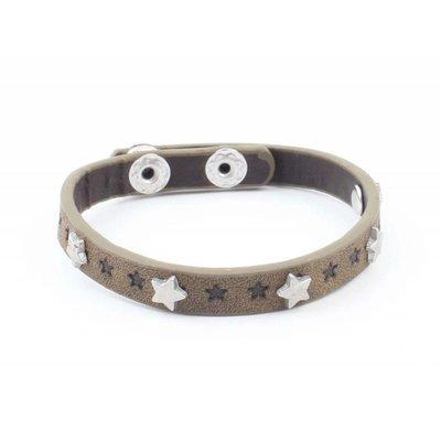 """Bracelet """"Little stars"""" kakhi Green"""