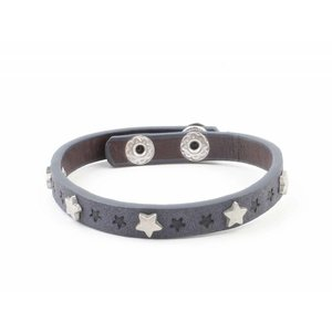 "Bracelet ""Little stars"" jeans blue"