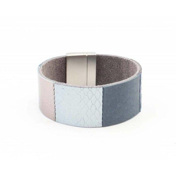 """Armband """"Ava"""" blauw"""