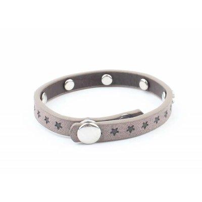 "Armband ""Kleine Sterne"" grau"