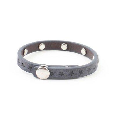 "Armband ""Kleine Sterne"" Jeansblau"