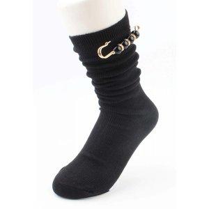 "Socken ""pin"" schwarz"