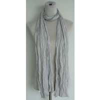 "Scarf ""Uni Jersey S"" light grey"