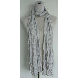 """Sjaal """"Uni Jersey S"""" licht grijs"""