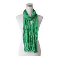 "Scarf ""Uni Jersey S"" sea green"