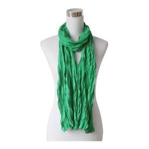 """Schal """"Uni Jersey S"""" meergrün"""