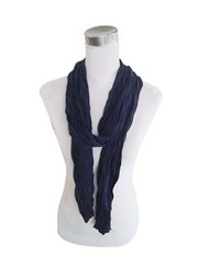 "Sjaal ""Uni Jersey S"" marine blauw"