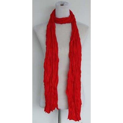 "Sjaal ""Uni Jersey S"" vuur rood"