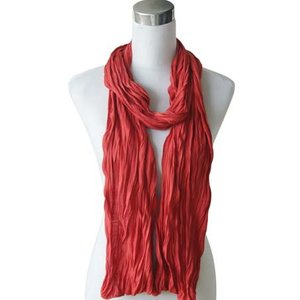 "Scarf ""Uni Jersey S"" blood red"