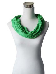 SCARF UNI JERSEY spring green 861001-4108