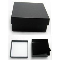 Bracelet box, black, per 5pcs.