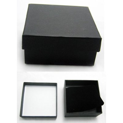 Bracelet box, black, per 5pcs.