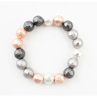 "Armband ""Metalen balletjes"" Multi"