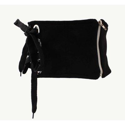 "Corset belt ""Zipper"" black"