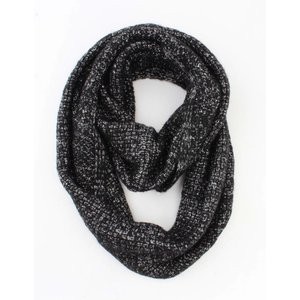 """Loop """"Uni Lurex"""" black"""