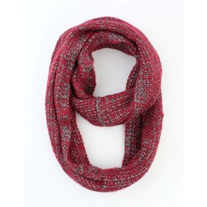 "Loop ""Uni Lurex"" rood"