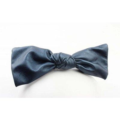 "Hair circlet ""Bow"" blue metallic"