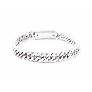 """Armband """"Zala"""" oud zilver"""