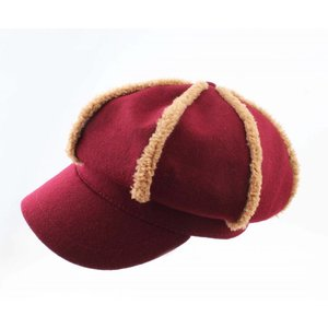 "Balloon cap ""Vilt"" Red"