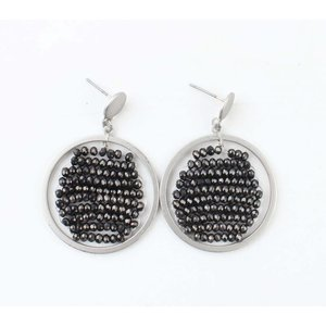 "Earring ""Zyenne"" anthracite"