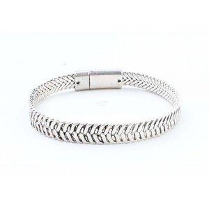 """Armband """"Ziva"""" old zilver"""