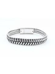 """Armband """"Jente"""" zilver"""