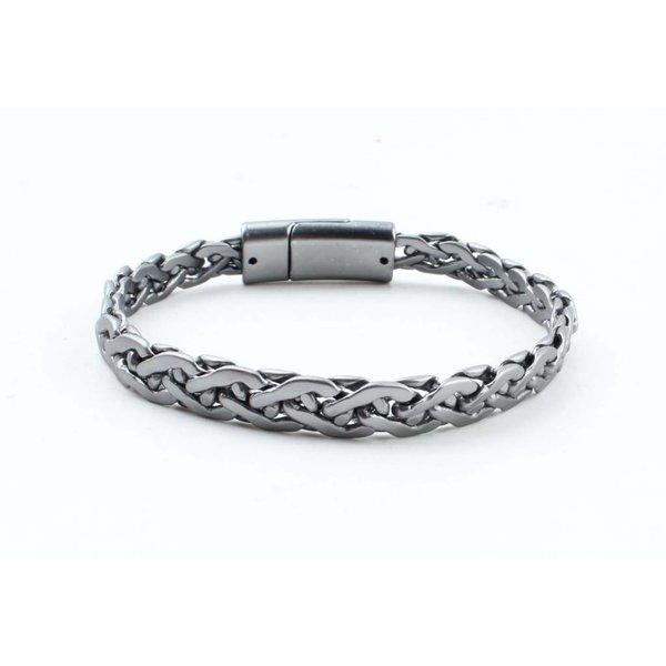 "Steel bracelet ""Esma"" anthracite"