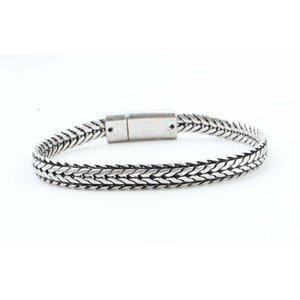 "Armband ""Nola"" old zilver"