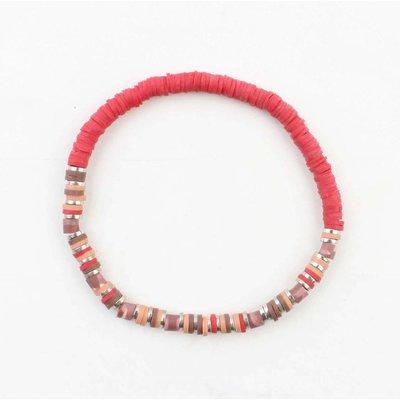 """Bracelet """"Beau"""" red"""