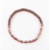 """Bracelet """"Beau"""" old pink"""