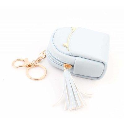"""Taschen Anhänger """"Rucksack"""" blau"""
