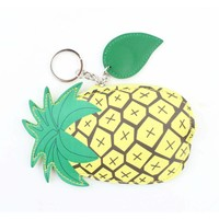 "Bags pendant ""Pineapple"" yellow"