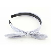 "Hair circlet ""Stripes"" blue"