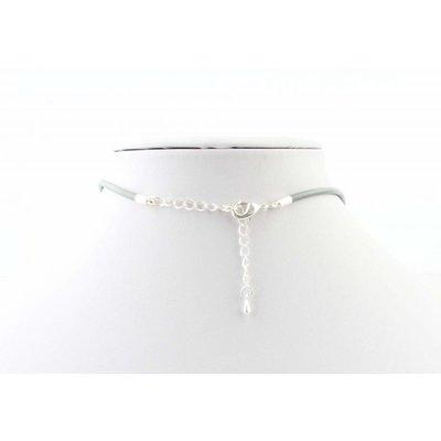 """Halskette """"Erde"""" grau"""